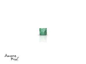 Emerald corte Emerald de 2X2 mm