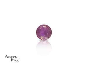 Ruby corte Round de 3.75 mm