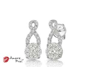 14kt White Gold Earrings!