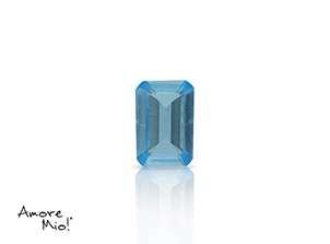 Topaz corte Octagonal de 6X4 mm