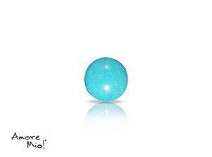 Turquoise corte Cabachon de 5X5 mm