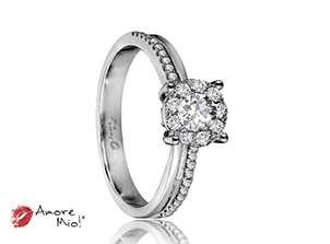 18kt White Gold Ring!