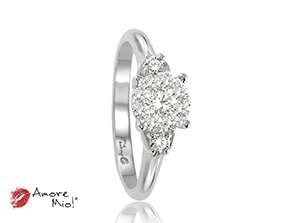 14kt White Gold Ring!